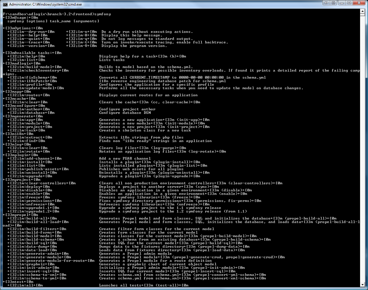 DOS Command Prompt